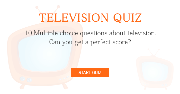 We bet you can't even score a 6 on this hard tv quiz.