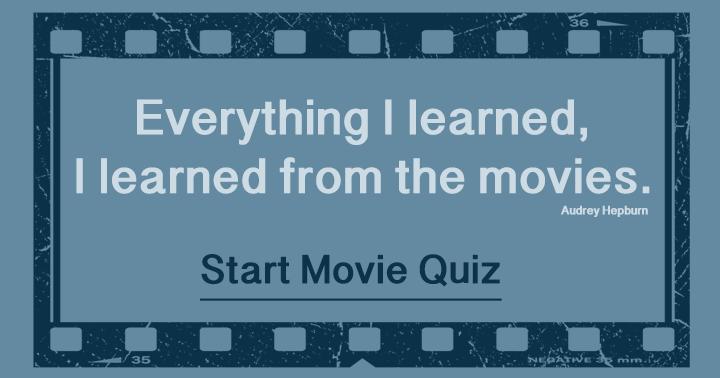 Movies Quiz