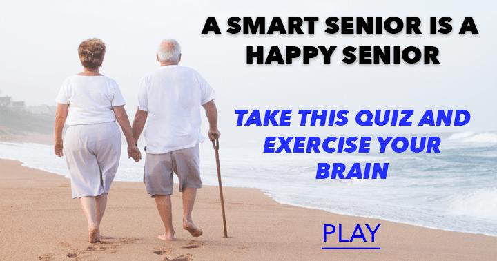 A smart senior is a happy senior!