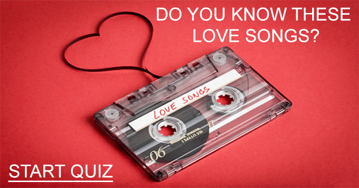Love Songs For Your Valentine!