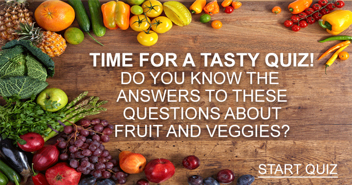 Do you know the answers about these Fruit and Veggies?