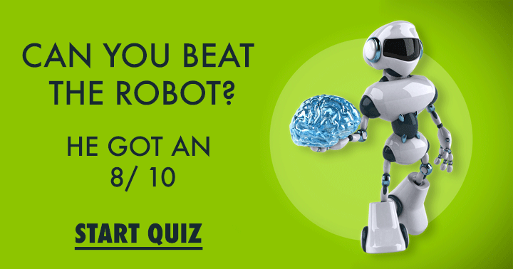 Can you beat the robot?