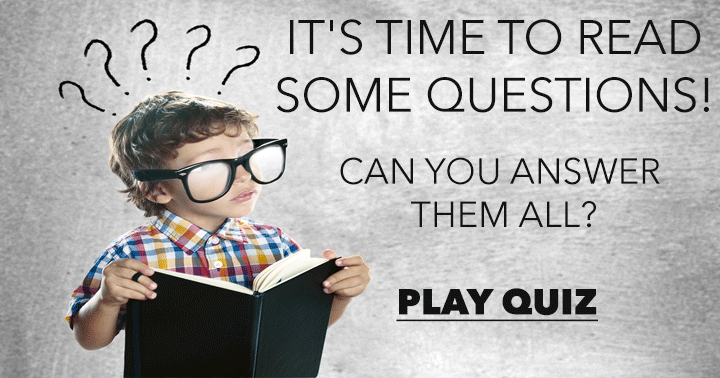 It's time to read some questions!