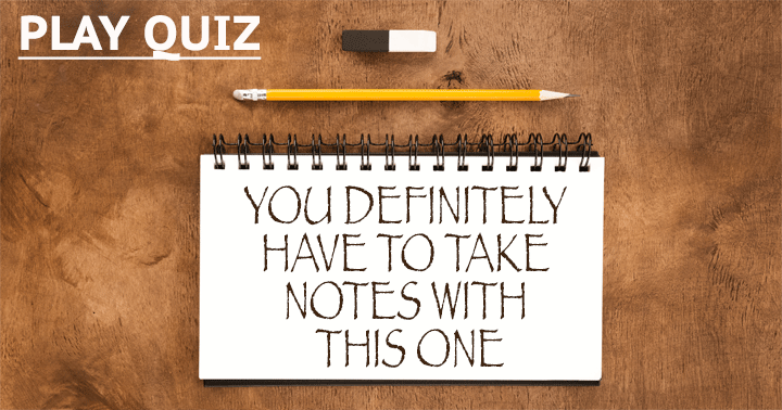 Do you have your pen and paper ready?