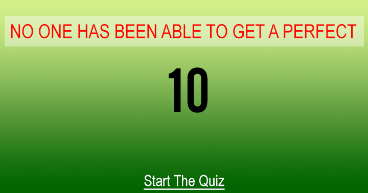 We dare you to try this quiz