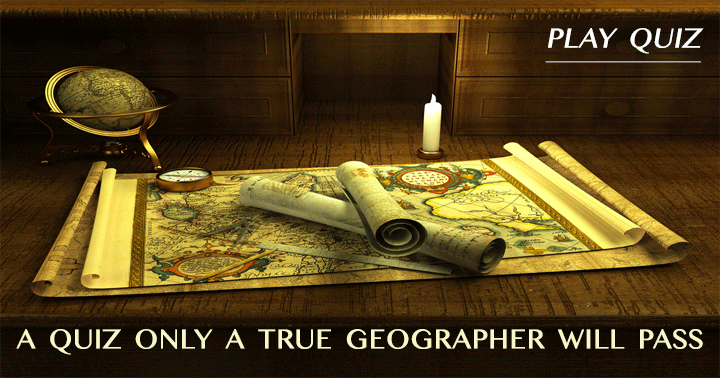 A geography quiz for the real geographer!