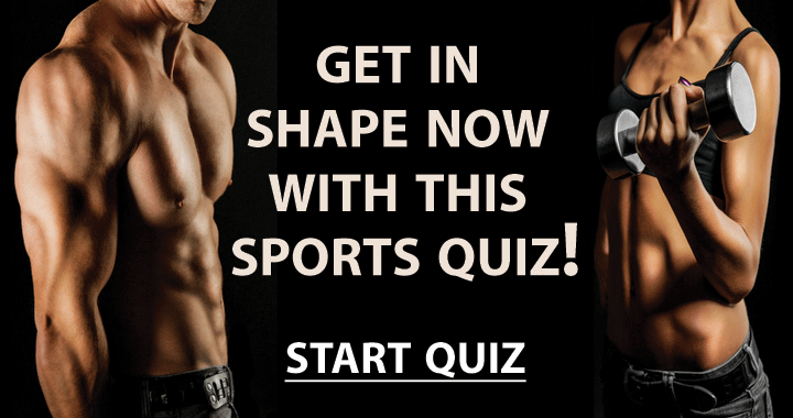 Get in shape with this sports quiz!
