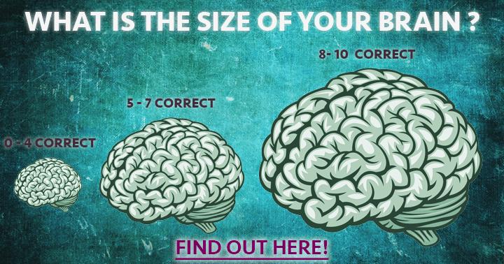 The better the score the bigger the brain