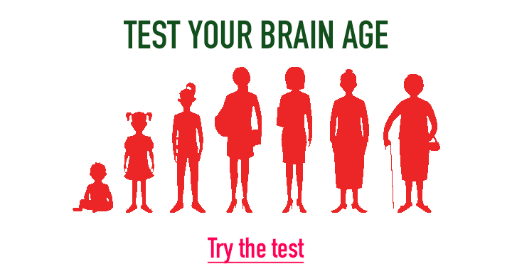 Test the age of your brain