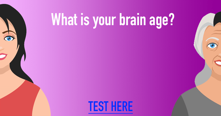 Measure the age of your brain!