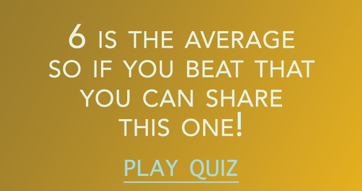 6 is the average so if you beat that you can share this one!