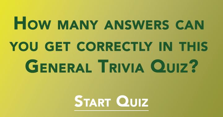 Tell us how many you had correctly!