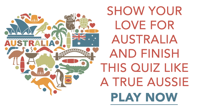 Show your love for Australia with this quiz!
