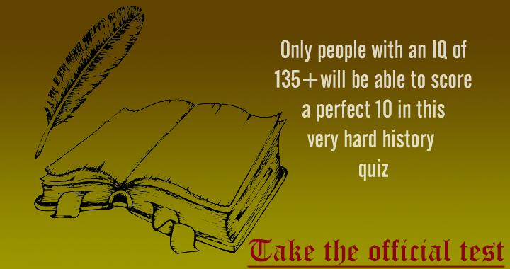 Is your IQ high enough to score a 10?