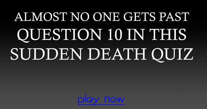Can you get past question 10?