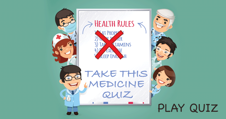 Health Rules: Take this quiz!