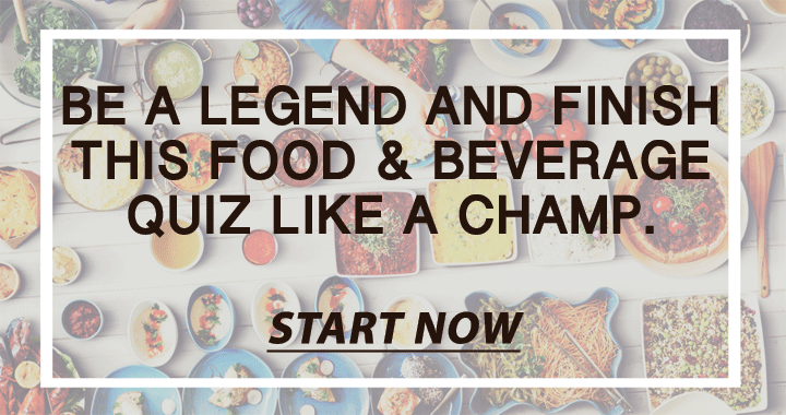 Food and Beverage Quiz