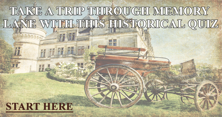 Come with us and take this trip through memory lane!