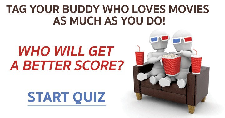 A movie quiz for you and your buddy!