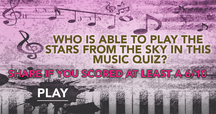 Can you play the stars from the sky in this music quiz?