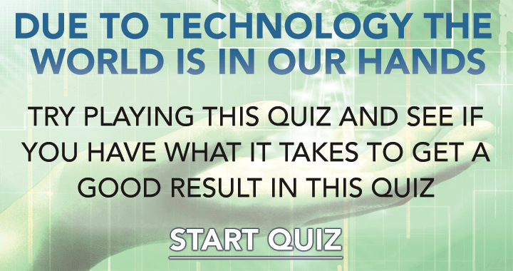 In this quiz a 5 is already a good result!