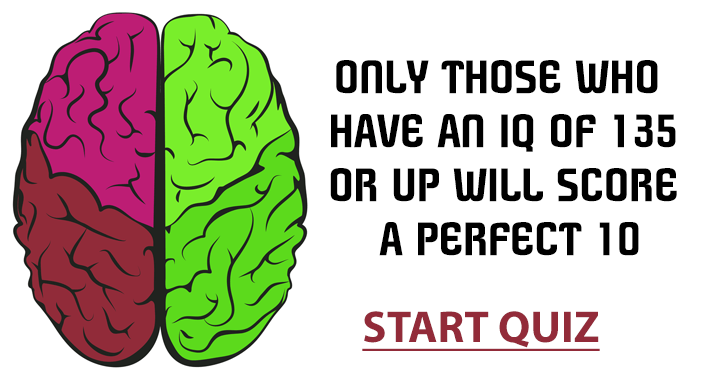 Are you smart enough to ace it?