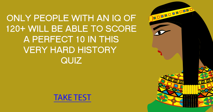 What is your History Trivia IQ?