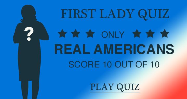 First Lady Quiz