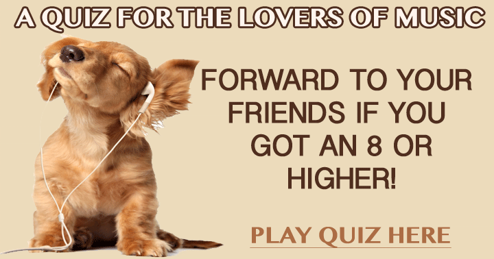 Who will be better in this music quiz, you or your friends?