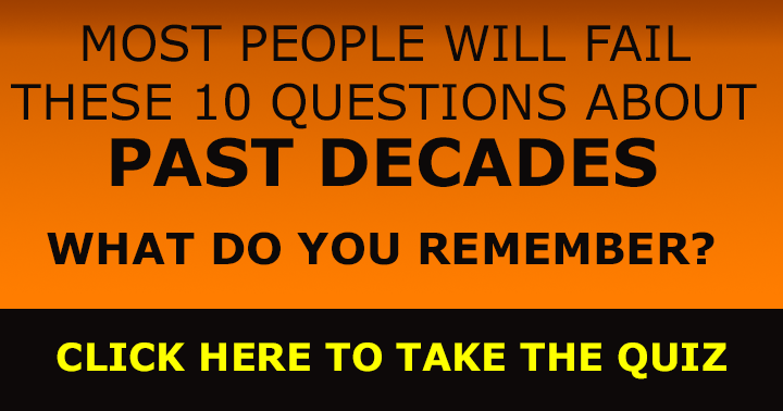 Most People will  fail these 10 questions