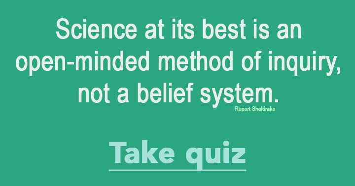 Are you smart enough for this Science Quiz?