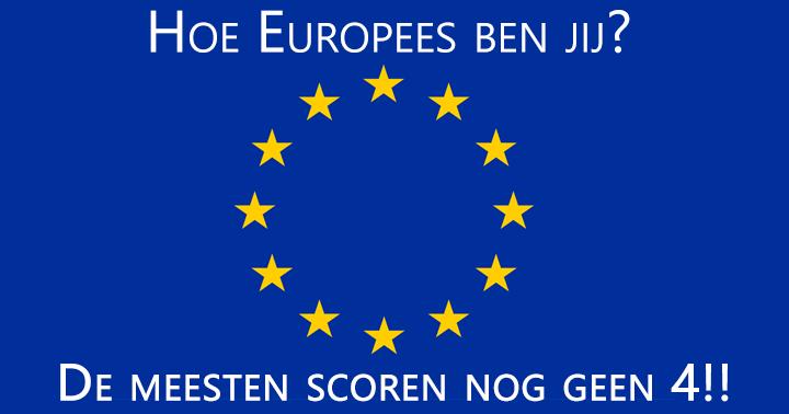 Een quiz voor de echte Europa kenners!!