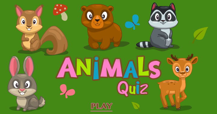 We hope you will have fun playing this animal quiz!