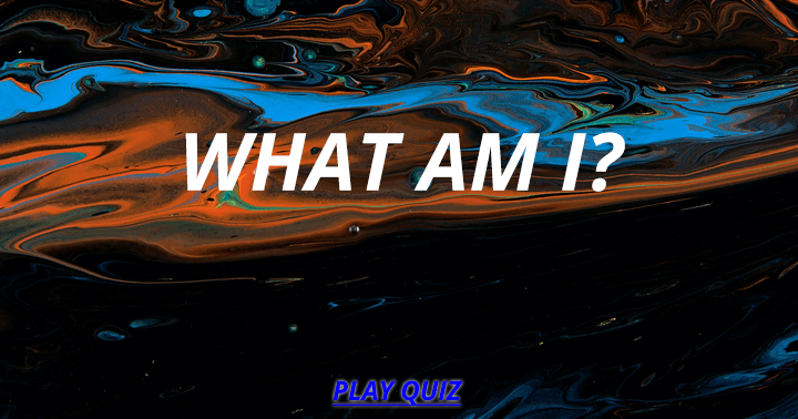 Who or what am I?
