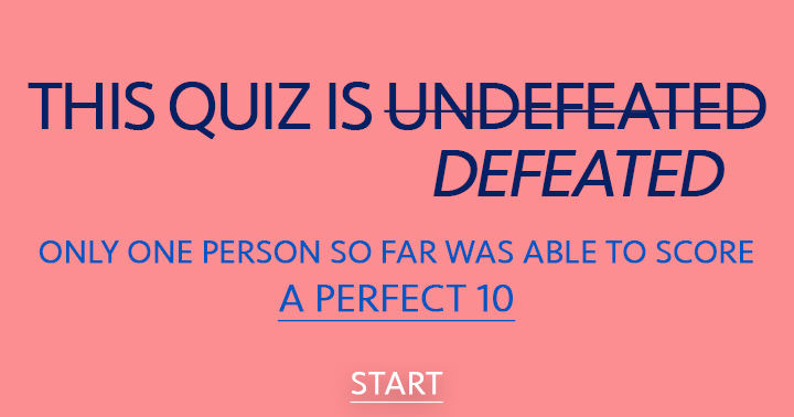 This quiz is finally defeated!