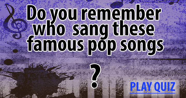 Try to remember at least 6 songs!
