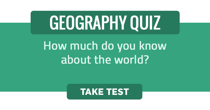 We think you don't know enough to score a perfect 10 in this HARD Geography Quiz!