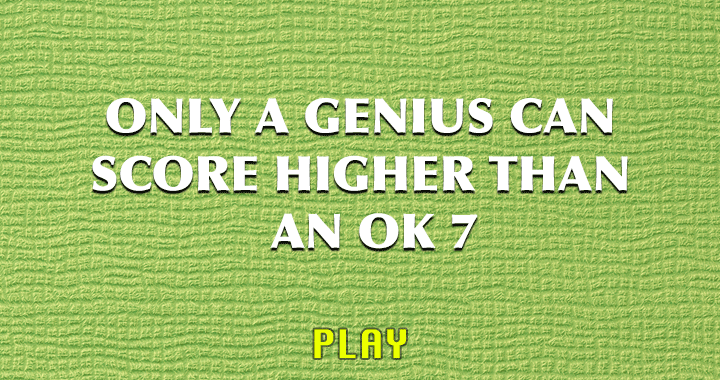 Who is genius enough to do so?