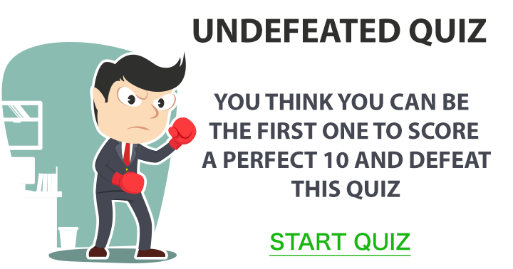 Undefeated Quiz