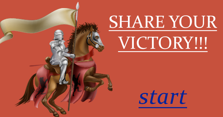 Share your victory!