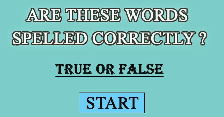 True or false? The chances are 50/50
