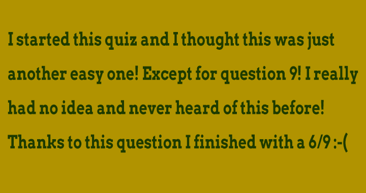 Do you know the answer from question 9?