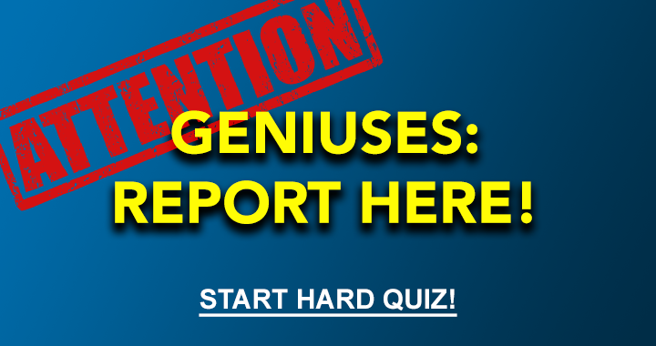 IQ of 130 or even higher? Try to beat this quiz!