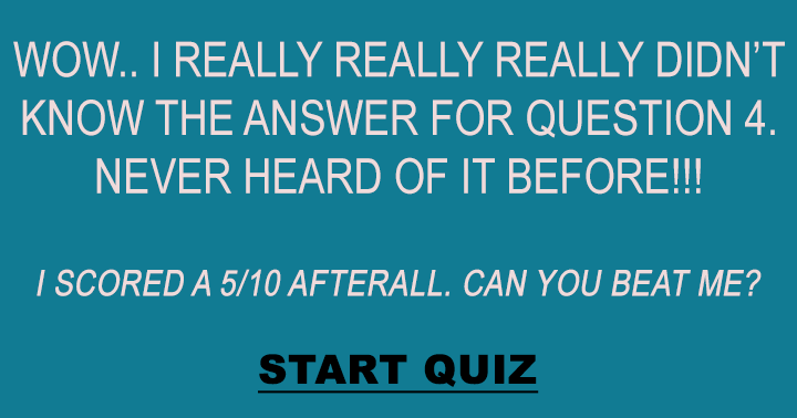 Who know the question to question 4?