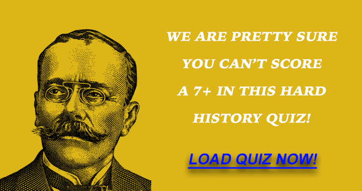 What's your score in this hard history quiz?