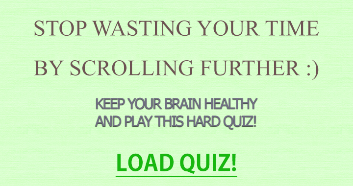 One of these quizzes everybody is talking about!