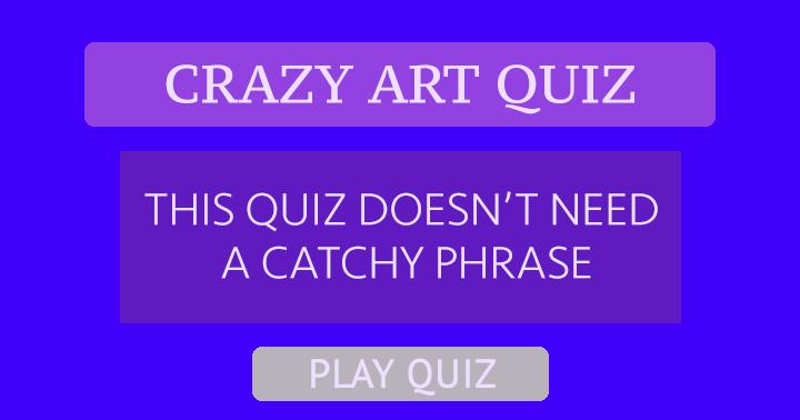Art Quiz