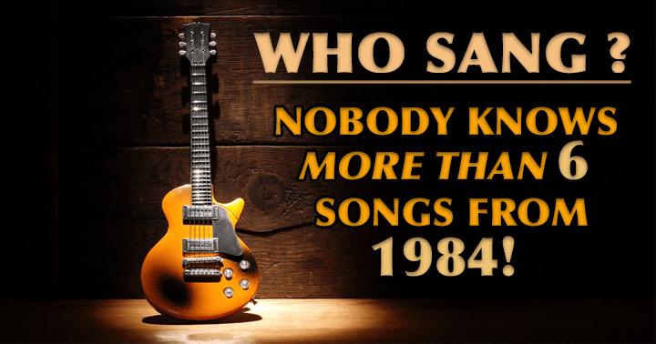 Who Sang?