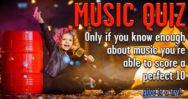 Fun Music Quiz
