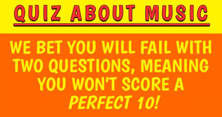 Quiz About Music